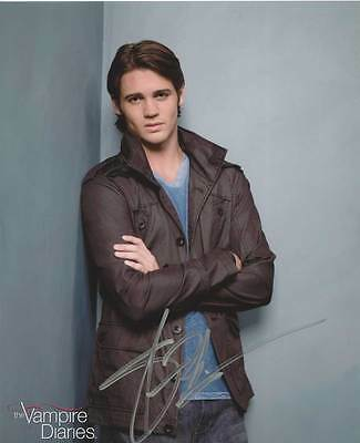 THE VAMPIRE DIARIES:STEVEN MCQUEEN AUTOGRAPH PHOTO SALE!