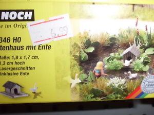 14346-Noch-Laser-Cut-Minis-Entenhaus-mit-Ente-Neuheit-2012