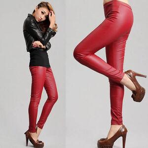 red womens pants - Pi Pants