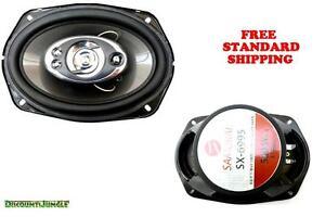 "BRAND NEW HIGH QUALITY SAMURAI SX-6995 6"" x 9"" 5-Way 500W Car Stereo Speakers"