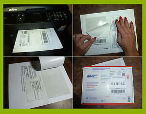 3d7522a75f320 Details about 750 LABELS PayPal/Ebay/USPS SHIPPING w/ Tear OFF Paper  RECEIPT for Laser Inkjet