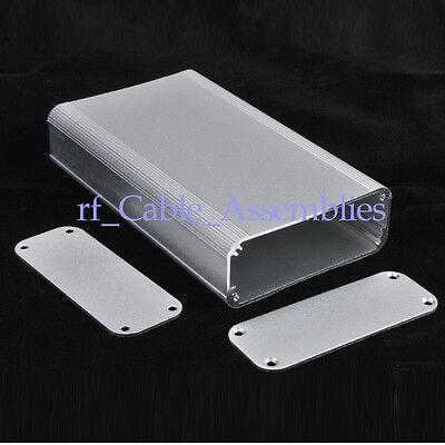 "Silver Aluminum Project Box Enclosure Electronic DIY -4.33""*2.60""*0.94""(L*W*H)"