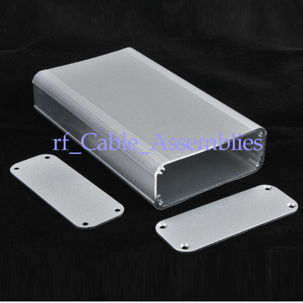 "Silver Aluminum Project Box Enclosure Electronic DIY -4.33""*2.60""*0.94""(L*W*H)"