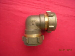 Conex-401-28mm-X-28mm-Brass-90-Degree-Elbow-Compression-Fitting