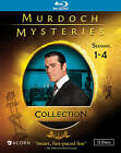 Murdoch Mysteries Collection: Seasons 1-4 (Blu-ray Disc, 2013, 12-Disc Set)