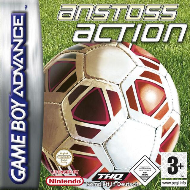 Nintendo GameBoy Advance - Spiel | Anstoss Action Soccer | Modul | gut