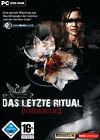 Das letzte Ritual - In Memoriam 2 (PC, 2006, DVD-Box)