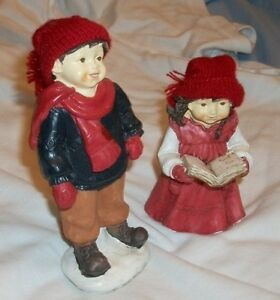 POLYSTONE FALL CHILD / Two / . Real Collectible