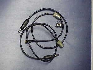 1965-72-NOS-MoPar-Fender-Turn-Signal-SOCKETS-amp-Tiny-BULBS-GTX-Cuda-Fury-300-Dart