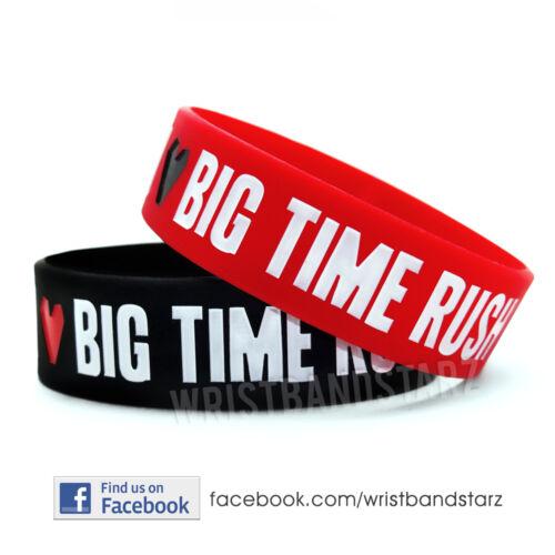 I LOVE BIG TIME RUSH BRACELET WRISTBAND BTR Kendall Logan Carlos James