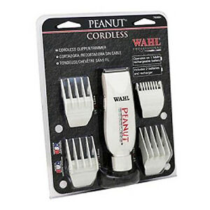 Wahl-Peanut-Cordless-Rechargeable-Hair-Clipper-Trimmer-8663-Haircut-Cut-Groom