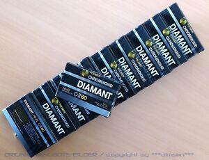 10-pcs-Polimer-DIAMOND-CHROM-Dioxide-C-II-60-Vintage-Audio-MC-Cassette-NIP