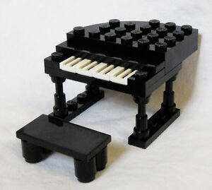 New lego grand piano minifig minifigure musical instrument