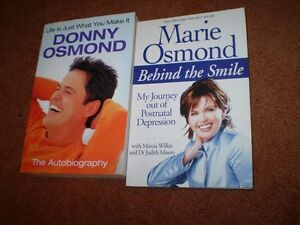 MARIE-OSMOND-BEHIND-THE-SMILE-amp-DONNY-OSMOND-AUTOBIOGRAPHY-LIFE-IS-WHAT-YOU-MAKE