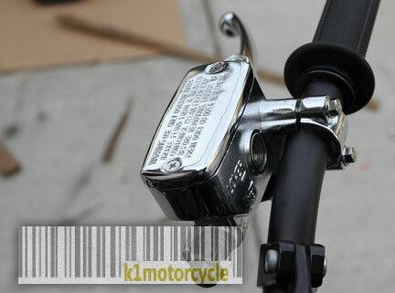 Kawasaki KZ200 KZ400 KZ550 KZ650 KZ700 Brake Master Cylinder - CHROME