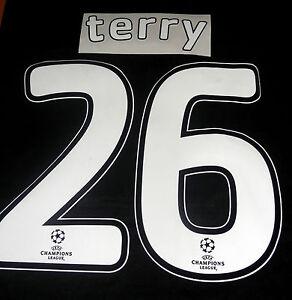 Chelsea-Terry-26-2007-08-Uefa-Champions-League-Final-Football-Shirt-Name-Set