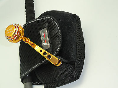 JAWS SPINNING REEL COVER POUCH size L for Shimano Stella Daiwa Penn Okuma REEL