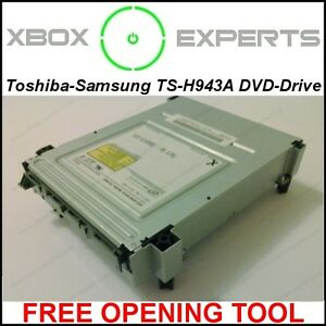 Xbox-360-Toshiba-Samsung-TS-H943A-DVD-Drive-NEW-MS25-MS28