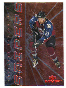 98-99-UD-Upper-Deck-MVP-Peter-Forsberg-Snipers-Insert-Card-S05-Mint