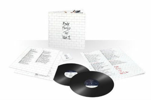 PINK FLOYD The Wall 2012 UK 180g vinyl 2LP + download & poster SEALED / NEW
