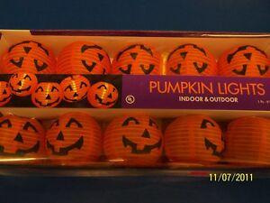 image is loading pumpkin lights indoor outdoor haunted house halloween carnival - Halloween Pumpkin Lights