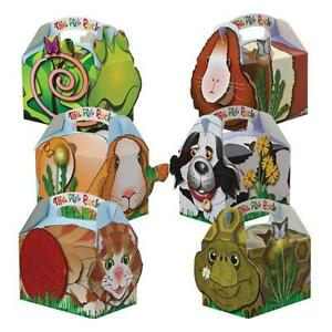 Childrens-Kids-Theme-Character-Carry-Food-Loot-Favour-Birthday-Party-Bag-Boxes