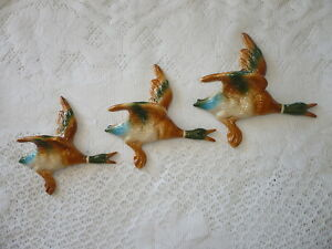 FLYING-WALL-HANGING-DUCKS-RETRO-HOUSE-DECORATION-KITCH