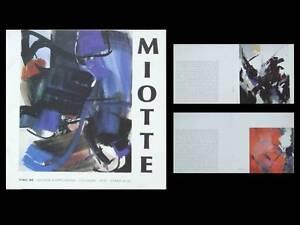 LIVRET-EXPOSITION-JEAN-MIOTTE-1986-GALERIE-KOPPELMANN-COLOGNE-FIAC