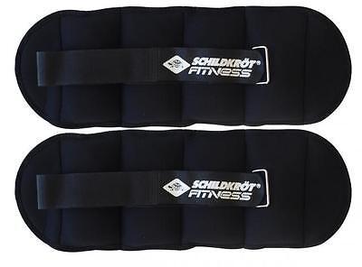 Schildkröt Fitness 960001 Gewichtsmanschette 2x 0,5Kg im Carrybag, für Arm-/Bein
