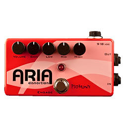 pigtronix aria disnortion octave guitar effect pedal for sale online ebay. Black Bedroom Furniture Sets. Home Design Ideas