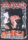 G.G. ALLIN - LIVE AND PISSED (DVD, 2005)