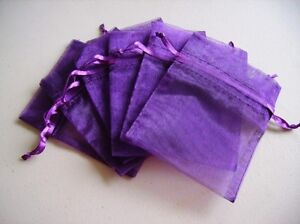100-Purple-Organza-Jewelry-Gift-Pouch-Bags-For-Wedding-favors-beads-jewelry
