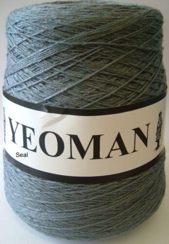 Yeoman Panama Yarn 50/% Cotton 50/% Acrylic 500g 4ply Choice of Colours