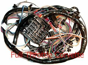1974 corvette dash wiring harness a c new image is loading 1974 corvette dash wiring harness a c new