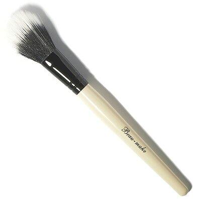 Beau-Make Duo Fiber Powder Ultra Soft Blending Contour Natural Makeup Brush 072X