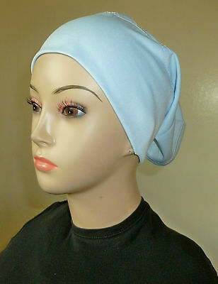 Plain Hat cap under scarf - Hijab cap under shawl *New*