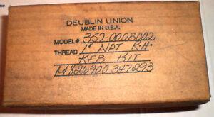 "DEUBLIN UNION 357-000B002 REBUILD KIT 1"" NPT RH NEW NIB FS"