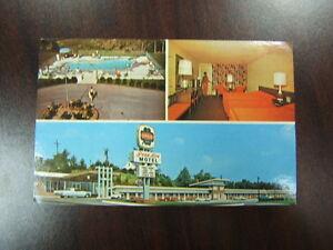 Photo-Postcard-Penn-Aire-Motel-Breezewood-PA-Used