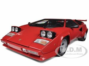 lamborghini countach lp5000s red 1 12 diecast car model by kyosho 08612r ebay. Black Bedroom Furniture Sets. Home Design Ideas