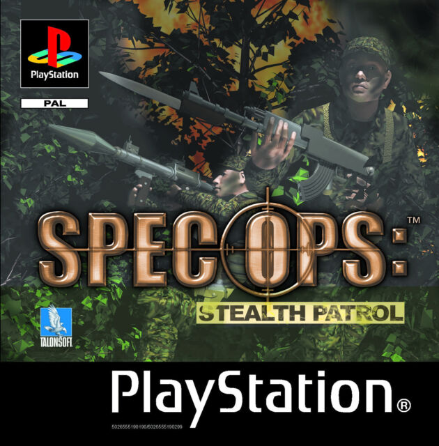 Spec Ops: Stealth Patrol (Sony PlayStation 1, 2000)