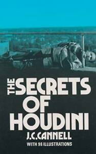 NEW-The-Secrets-of-Houdini-Dover-Magic-Books-by-J-C-Cannell