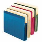 """Esselte Ess-90164 Recycled Colored File Pocket - 3.5"""" Expansion 8.5"""" X"""