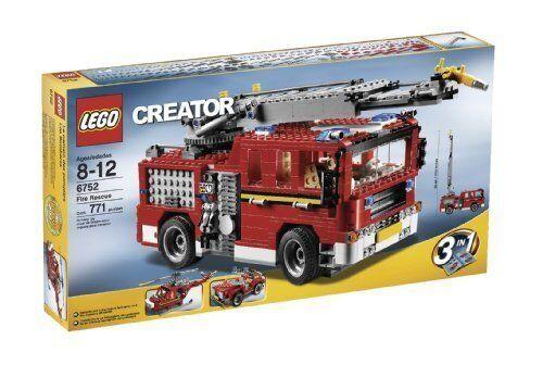LEGO Creator Fire Rescue  (6752)  100% garantie de prix