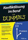 Konfliktlosung im Beruf Fur Dummies by Vivian Scott (Paperback, 2012)