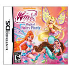 Winx Club: Magical Fairy Party (Nintendo DS, 2012)