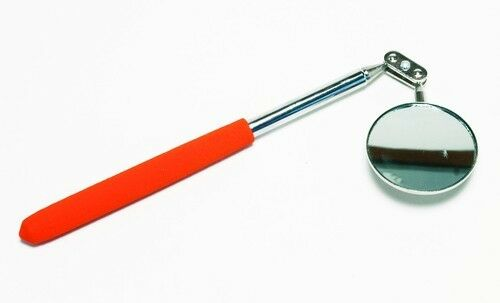 AIRCRAFT TOOLS  NEW LONG REACH 50MM TELESCOPIC INSPECTION MIRROR FOR ENGINEERS