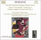 Maurice Durufle - Duruflé: Sacred Choral & Organ Works, Vol. 2 (1995)