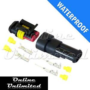 5-x-2-Way-Waterproof-Automotive-Marine-Electrical-Sealed-Wire-Connector-12-24V