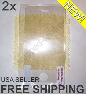 NEW-2x-Screen-Protector-Apple-iPhone-3G-3GS-1-CENT-STARTING-BID-GREAT-DEAL
