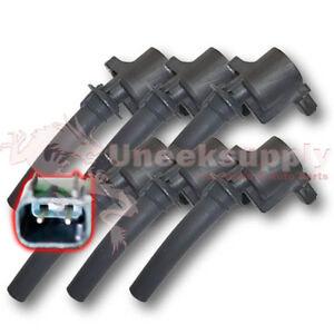 6-Coils-Ford-Mercury-Mazda-Ignition-USA-Shipping-DG500